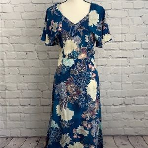 Anthropologie midi dress excellebnt condition